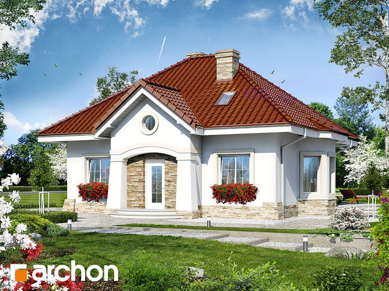 gotowy projekt Dom w lotosach (PD) widok 1