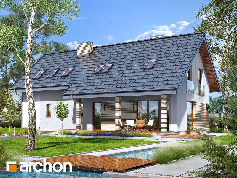gotowy projekt Dom w żurawkach 4 (G2) widok 1