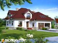 projekt Dom w jastrunach widok 1