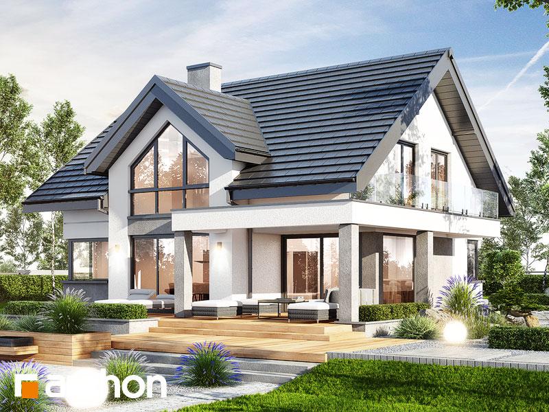 gotowy projekt Dom w telimach (G) widok 1