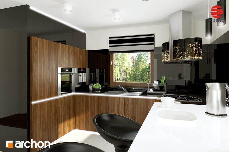 Aranżacje kuchni do projektów domów - ARCHON+ - strona 9