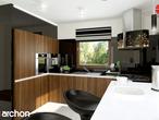 projekt Dom w rododendronach 6 (T) Wizualizacja kuchni 2 widok 1