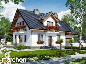 gotowy projekt Dom w rododendronach 6 (T)