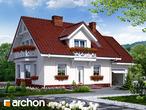 projekt Dom w rododendronach 6 (T) Stylizacja 3