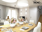 projekt Dom w rododendronach 6 (T) Strefa dzienna (wizualizacja 2 widok 4)