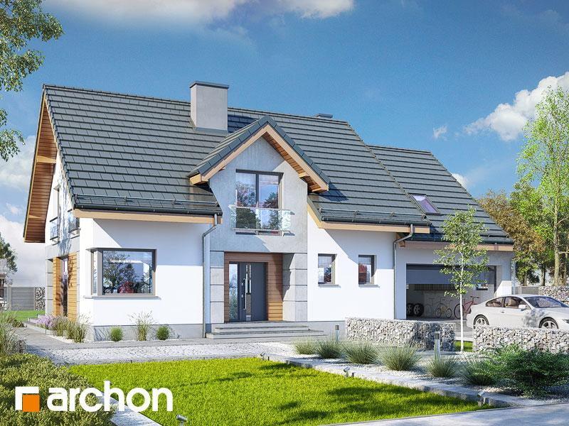 gotowy projekt Dom w srebrzykach 2 (G) widok 1