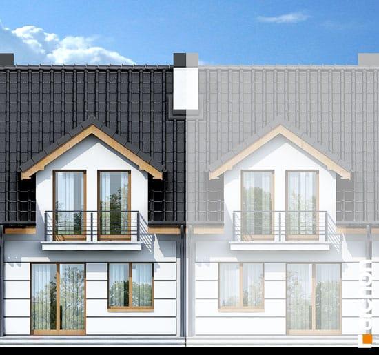 Elewacja ogrodowa projekt dom pod milorzebem ver 2  267