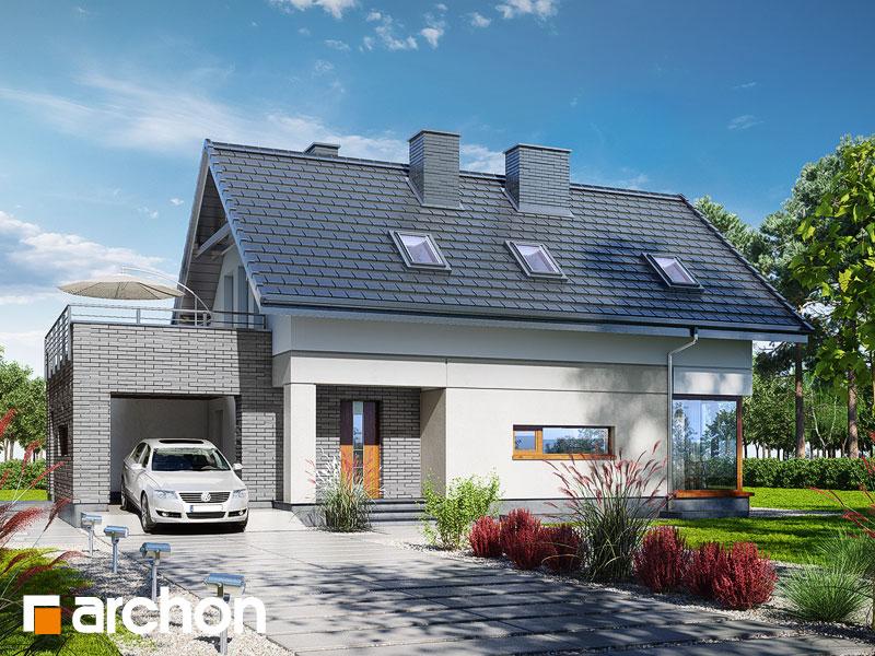 gotowy projekt Dom w cytryńcach (P) widok 1