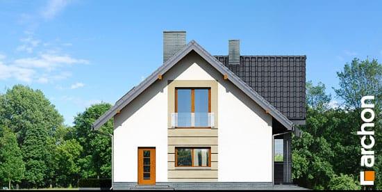 Elewacja boczna projekt dom w skrzydlokwiatach ver 2  266