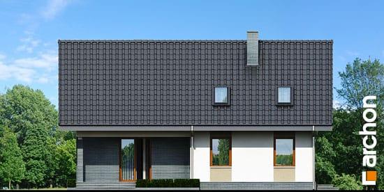 Elewacja ogrodowa projekt dom w skrzydlokwiatach ver 2  267