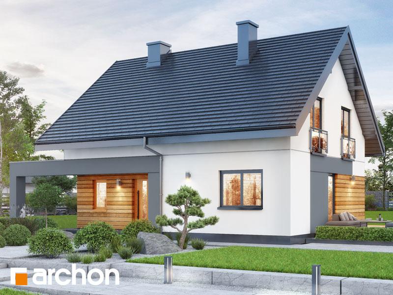 gotowy projekt Dom w malinówkach 11 (A) widok 1