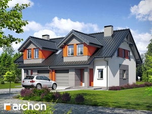 projekt Dom w klematisach 9 (A)