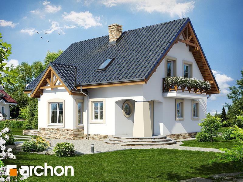 gotowy projekt Dom w mandarynkach (T) widok 1