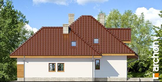 Elewacja boczna projekt dom w zefirantach 2 g2  265