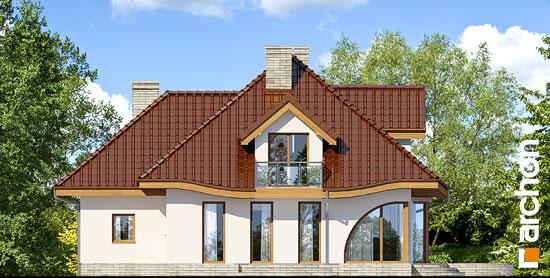 Elewacja ogrodowa projekt dom w zefirantach 2 g2  267