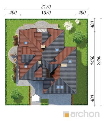 projekt Dom w zefirantach 2 (G2) sytuacja