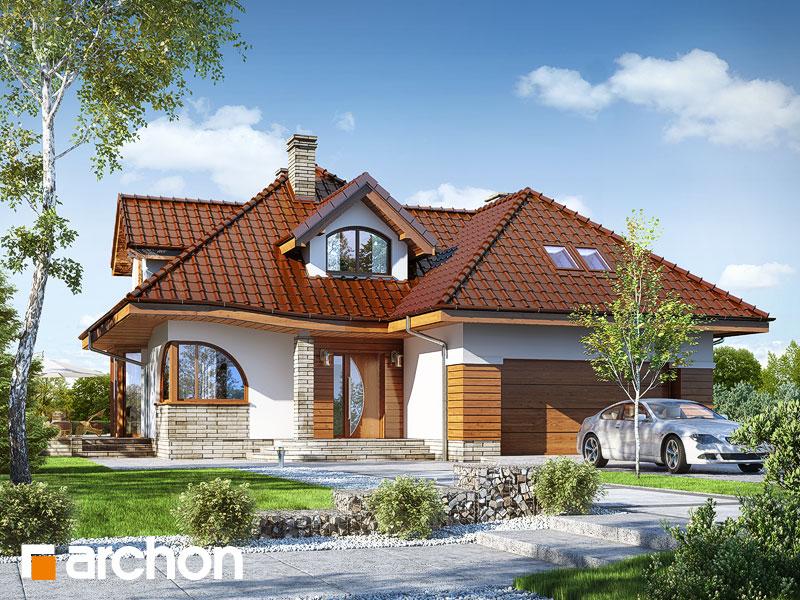 gotowy projekt Dom w zefirantach 2 (G2) widok 1