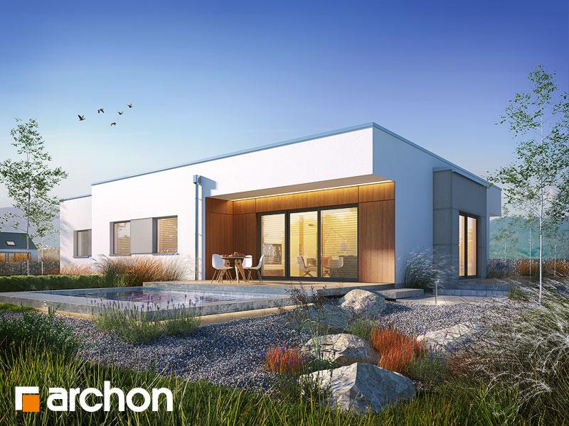 gotowy projekt Dom w parrocjach 2 (G2) widok 1