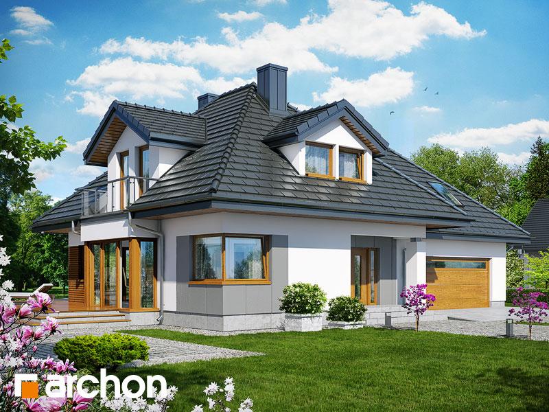 gotowy projekt Dom w czarnuszce 2 (G2) widok 1