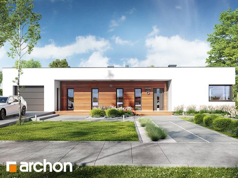 gotowy projekt Dom w plumeriach 3 (G) widok 1