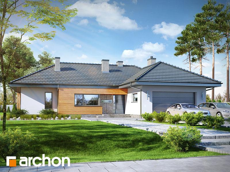 gotowy projekt Dom w ismenach 2 (G2) widok 1