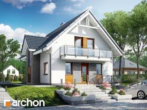 projekt Dom w żarnowcach (N)