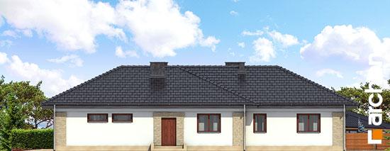 Elewacja boczna projekt dom w bergeniach ver 2  265