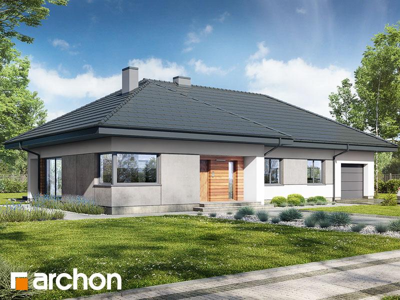 gotowy projekt Dom w santolinach 3 widok 1