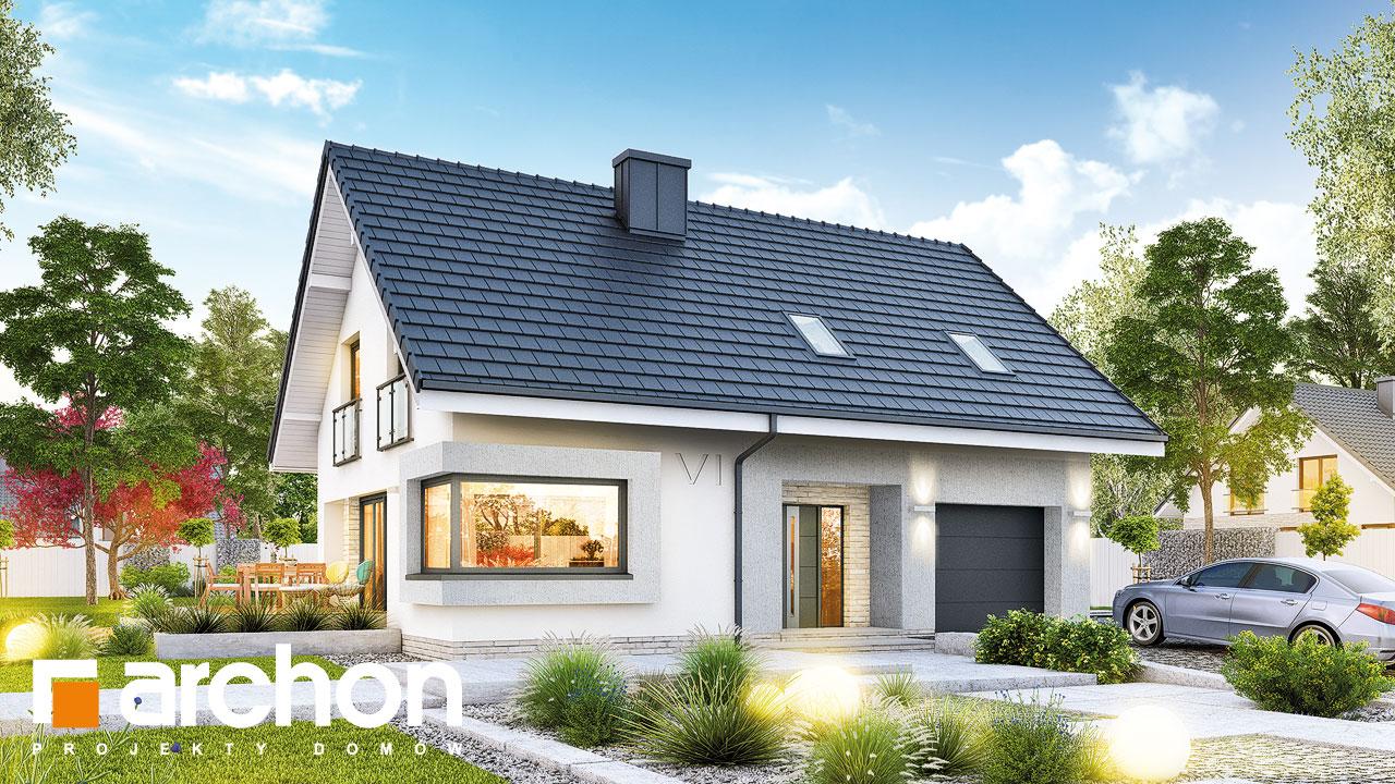 5edc5177b025ca Projekt domu Dom w zdrojówkach - ARCHON+