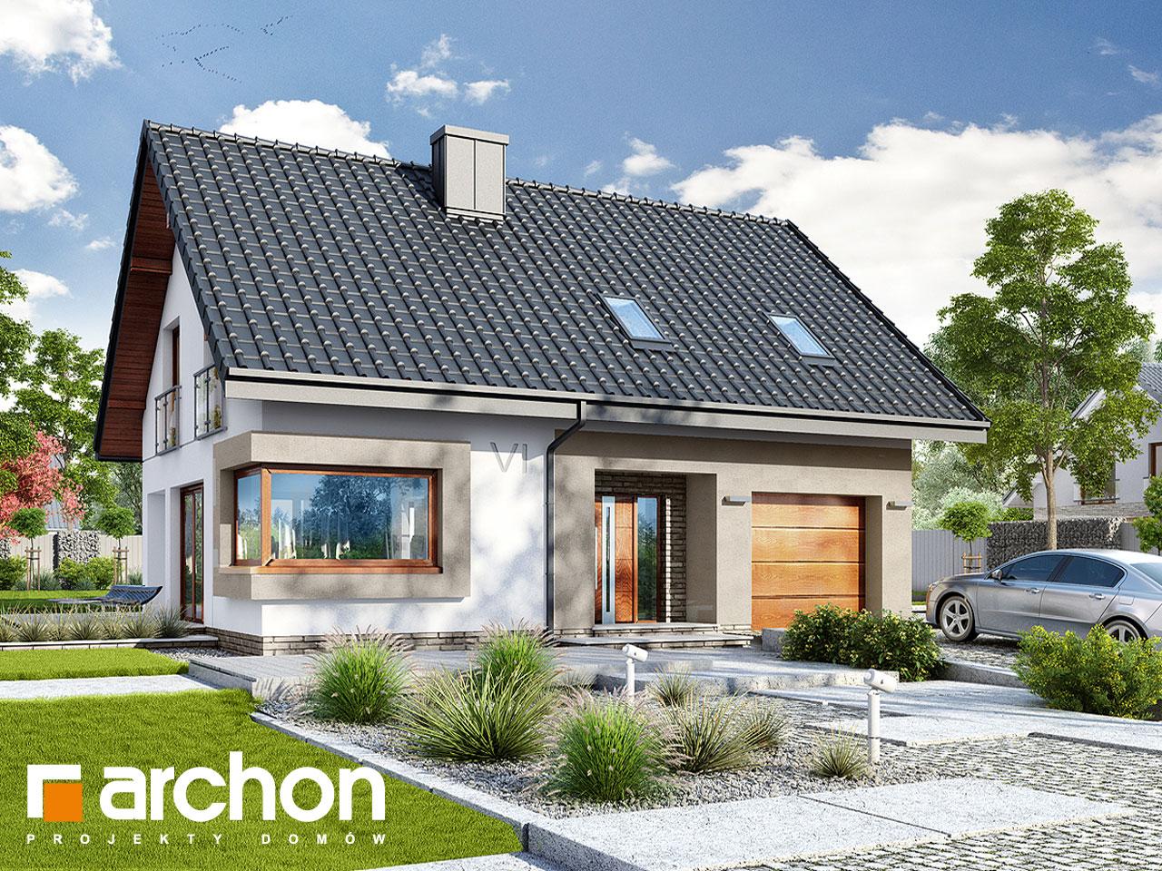 Projekt Domu Dom W Zdrojówkach Archon