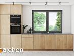 projekt Dom w zdrojówkach Wizualizacja kuchni 1 widok 1