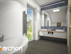 projekt Dom w zdrojówkach Wizualizacja łazienki (wizualizacja 3 widok 2)