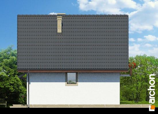 Elewacja boczna projekt dom na wzgorzu ver 2  265