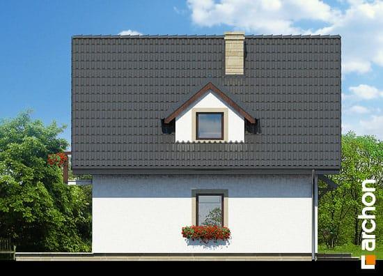 Elewacja boczna projekt dom na wzgorzu ver 2  266