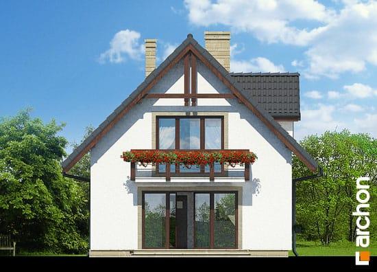 Elewacja ogrodowa projekt dom na wzgorzu ver 2  267