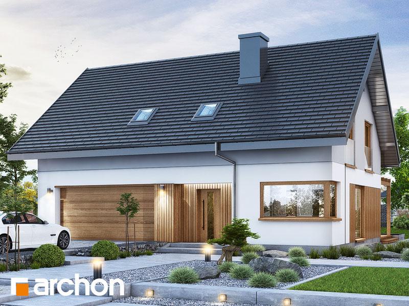 gotowy projekt Dom w złociszkach (G2) widok 1