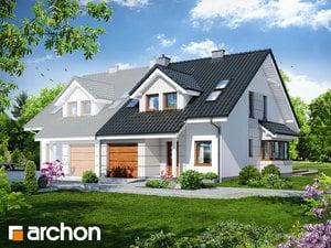 projekt Dom w klematisach 7 (B)