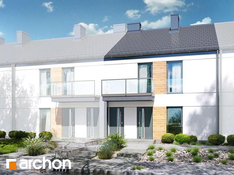 gotowy projekt Dom w bratkach 2 (R2S) widok 1
