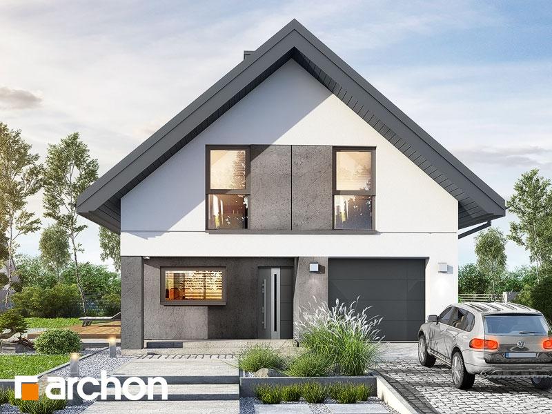 gotowy projekt Dom w marzyczkach widok 1