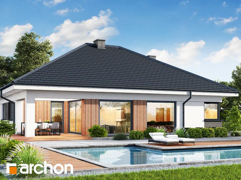 gotowy projekt Dom w renklodach 10 widok 1