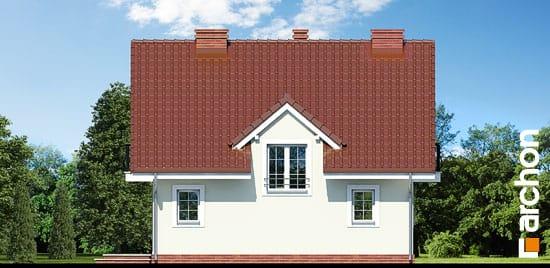 Elewacja boczna projekt dom w rododendronach 3 ver 2  265
