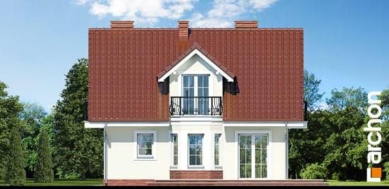 Elewacja boczna projekt dom w rododendronach 3 ver 2  266