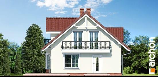 Elewacja frontowa projekt dom w rododendronach 3 ver 2  264