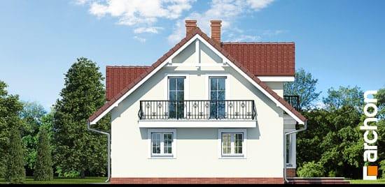 Elewacja ogrodowa projekt dom w rododendronach 3 ver 2  267