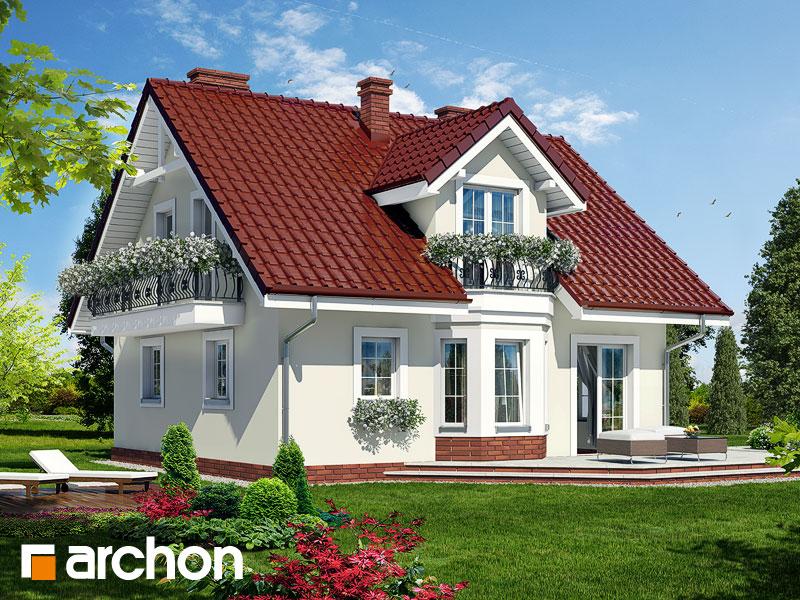 Projekt Domu Dom W Rododendronach 3 Ver 2 Galeria Archon