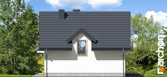 Elewacja boczna projekt dom w rododendronach 5 w ver 2  266