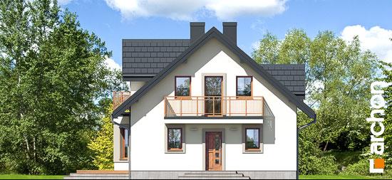 Elewacja frontowa projekt dom w rododendronach 5 w ver 2  264
