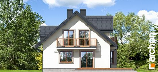 Elewacja ogrodowa projekt dom w rododendronach 5 w ver 2  267