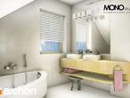 projekt Dom w rododendronach 5 (W) Wizualizacja łazienki (wizualizacja 1 widok 2)