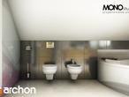 projekt Dom w rododendronach 5 (W) Wizualizacja łazienki (wizualizacja 1 widok 4)